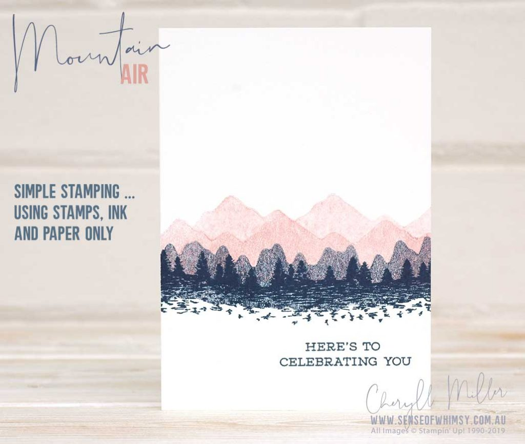 Mountain Air Beginner Card