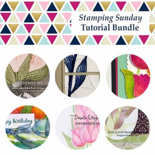 Stamping Sunday Tutorial Bundle March