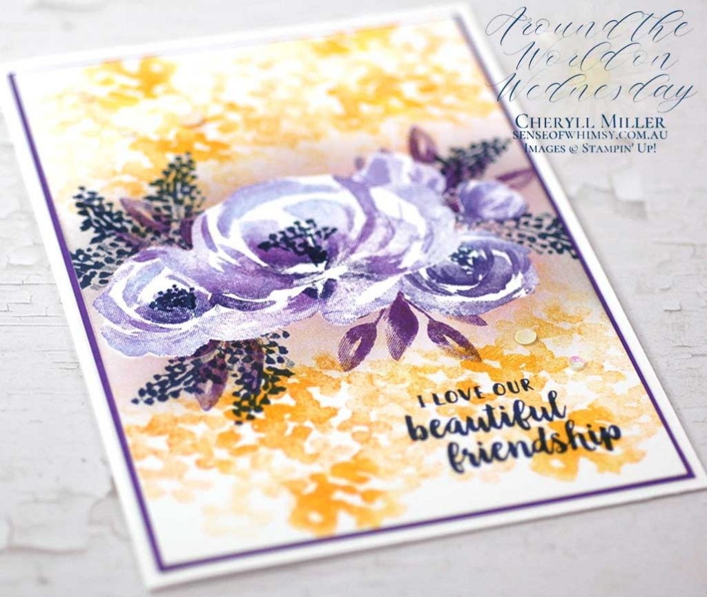 Beautiful Friendship stamp set around the world on Wednesday