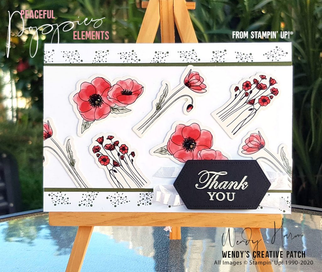 Peaceful Poppies Elements Wendy Harm