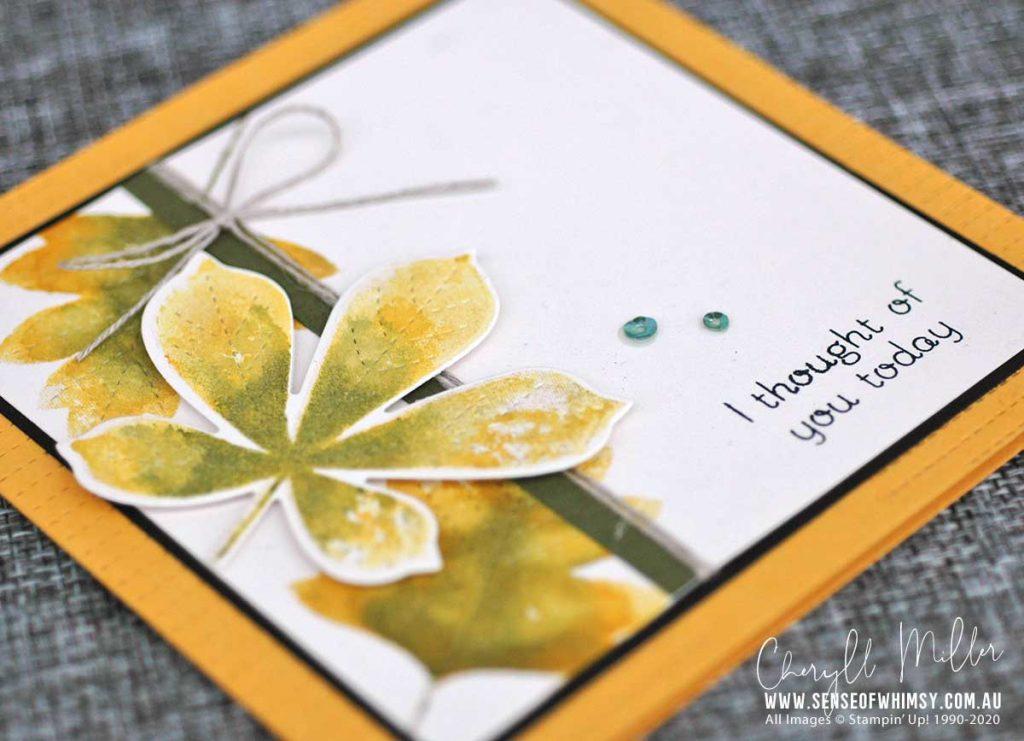 Love of Leaves Watercoloured Leaves