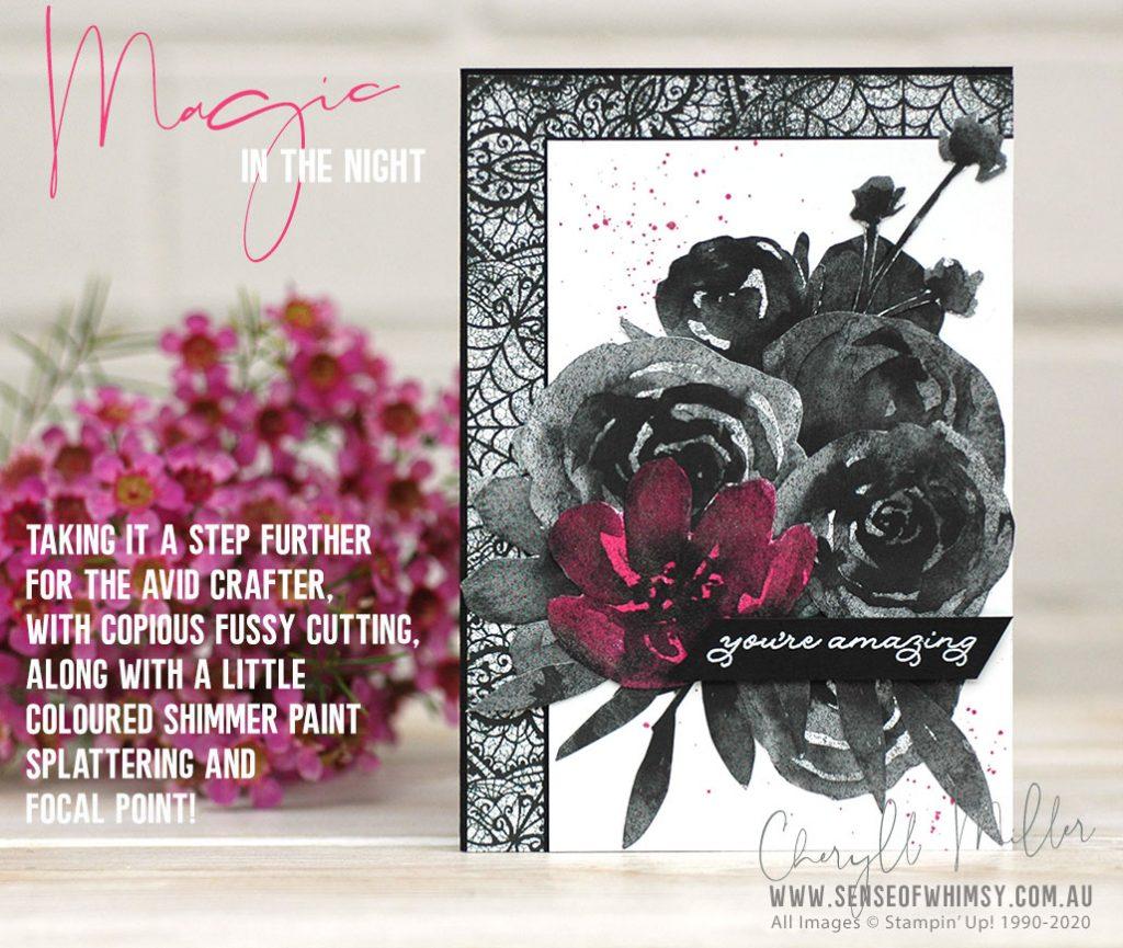 Designer Series Paper Magic in the Night Avid Card