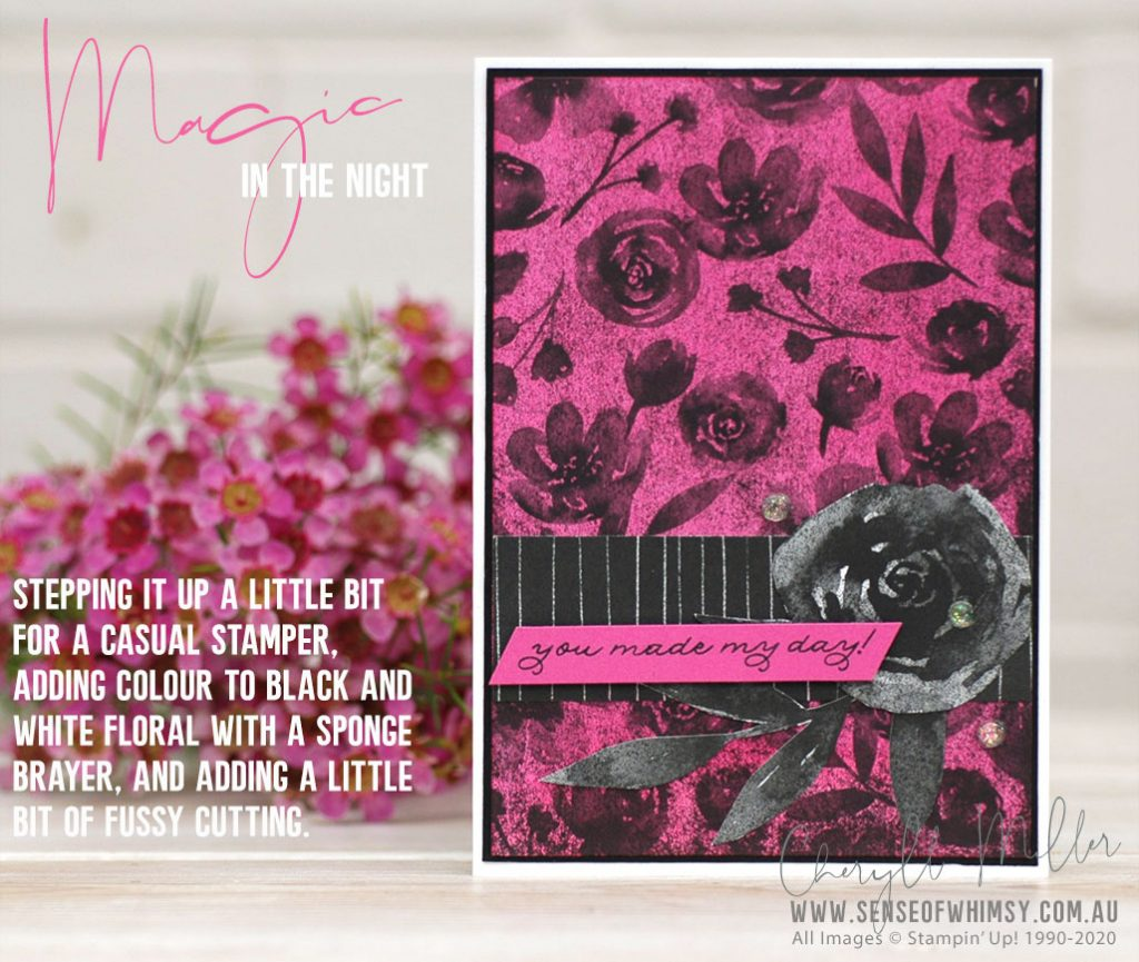 Designer Series Paper Magic in the Night Casual Card