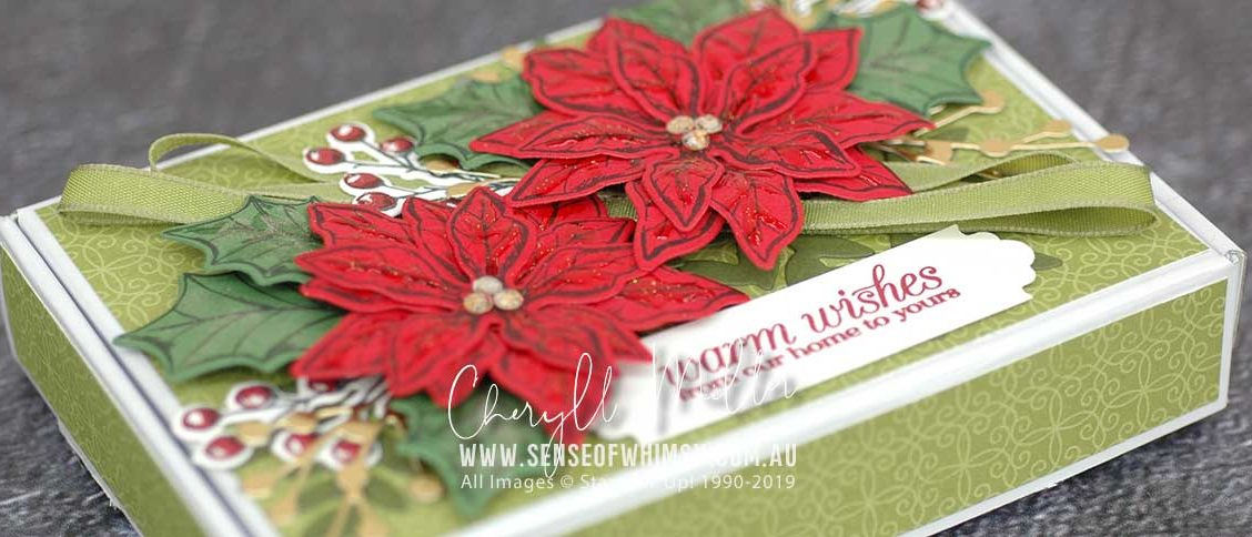 Poinsettia Petals Header