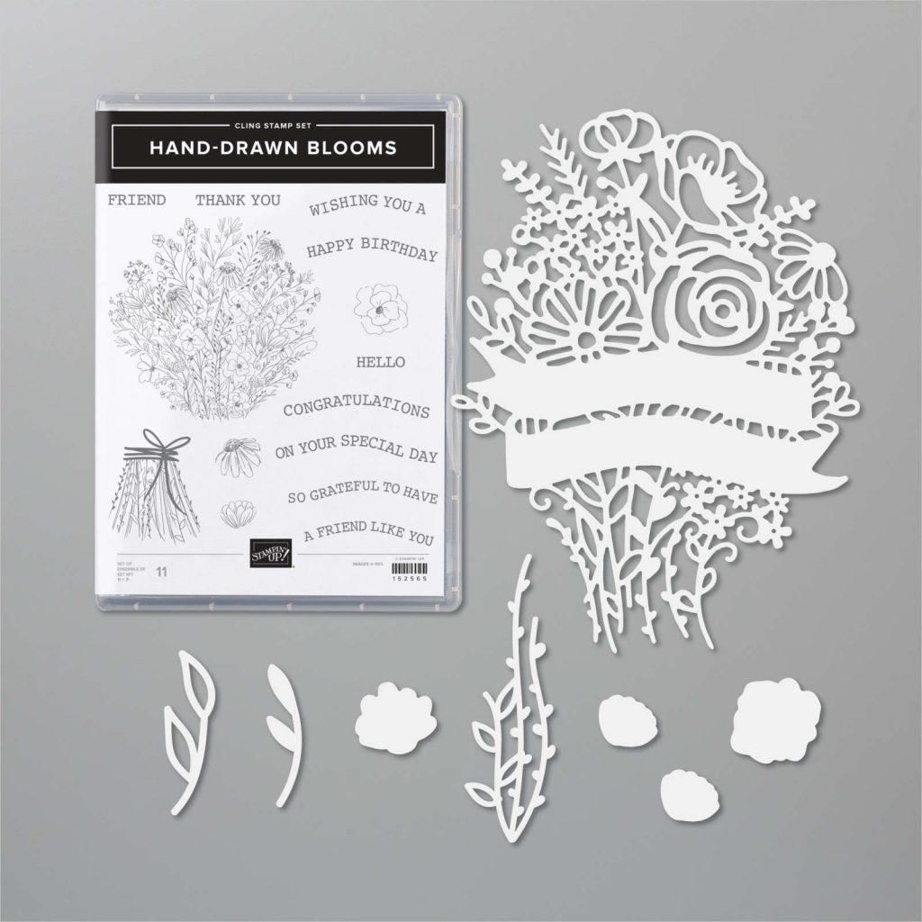 Hand Drawn Blooms Bundle