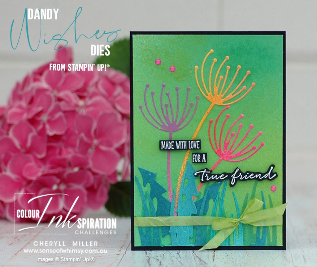 Dandy Wishes Dies for Colour Inkspirations