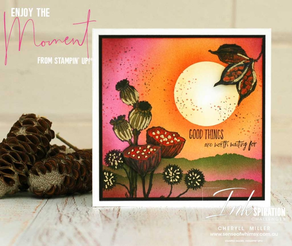 Enjoy the Moment Card No 2 for CI92