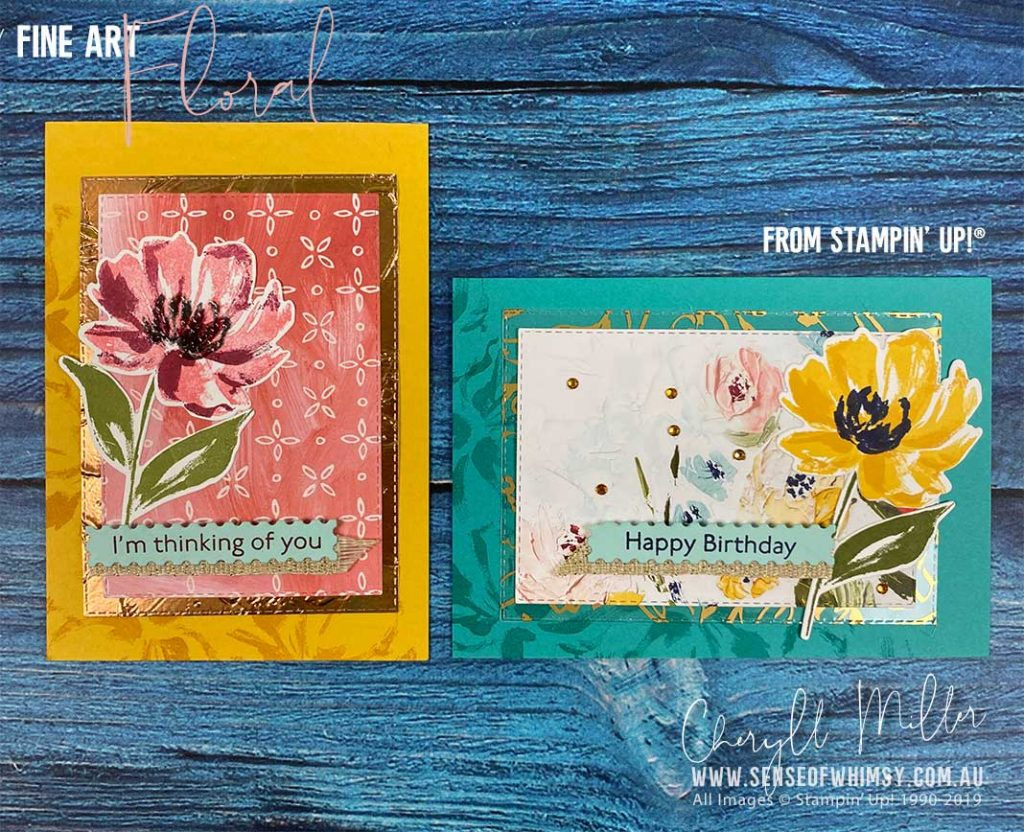 Fine Art Floral Suite Cards