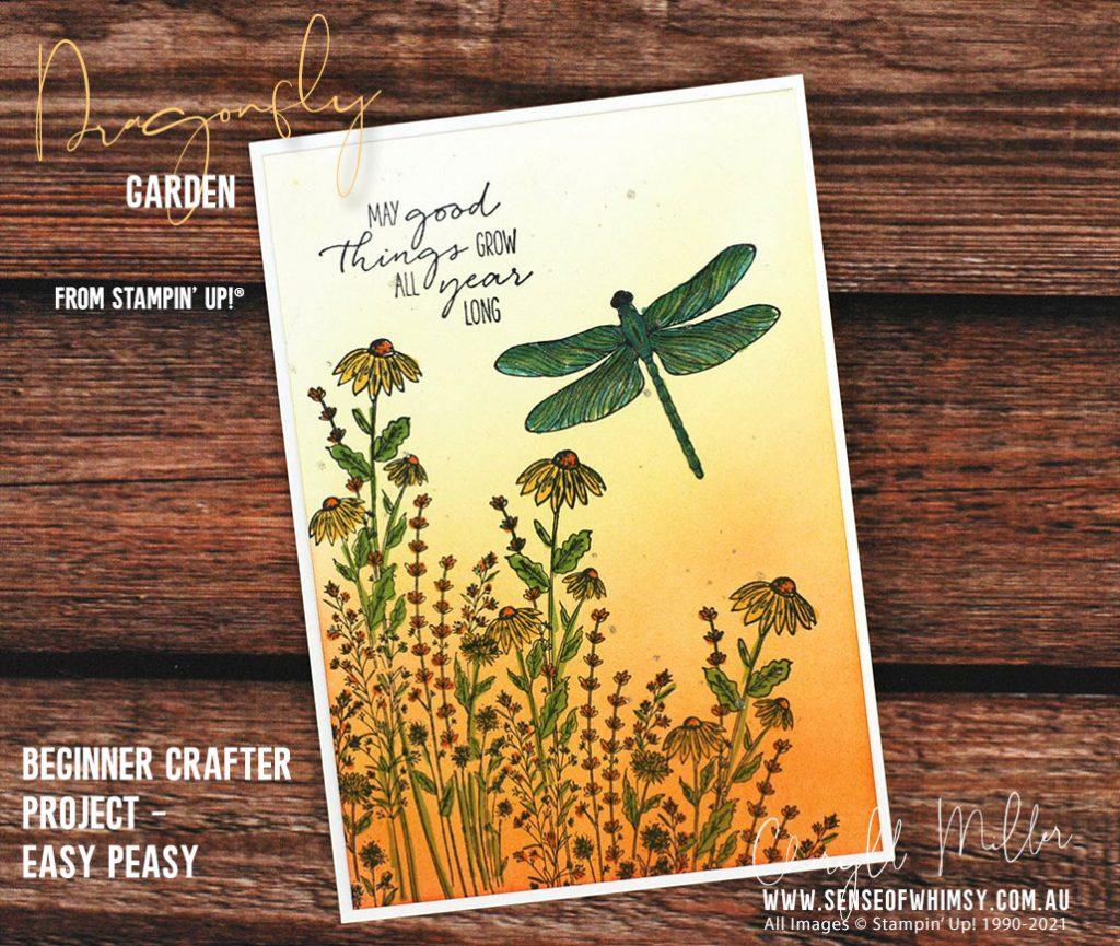 Dragonfly Garden Beginner Project