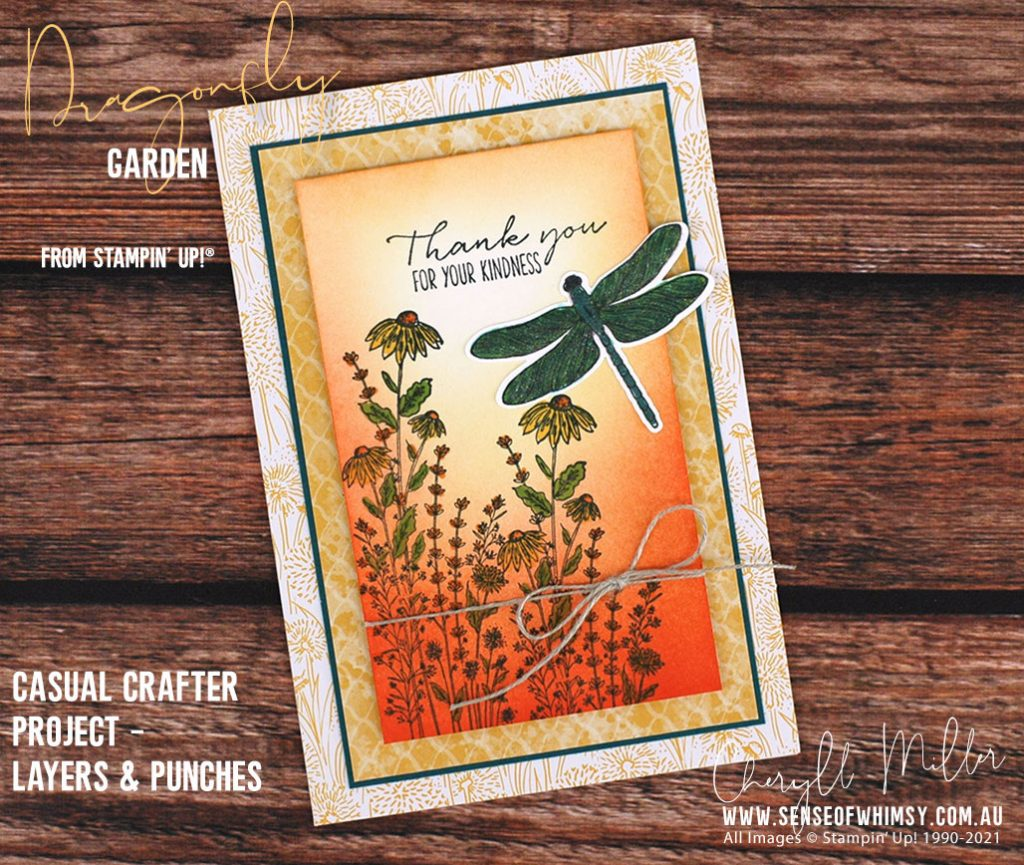 Dragonfly Garden Casual Project