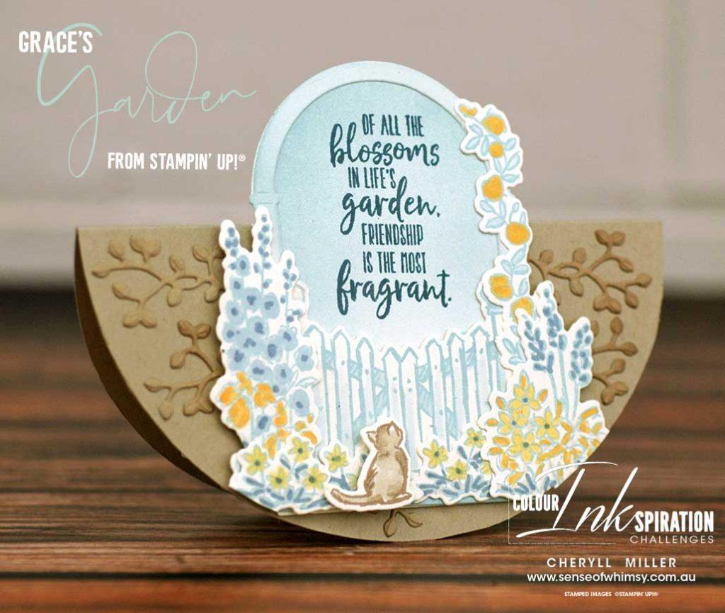 Graces Garden Stamp Set for CI94