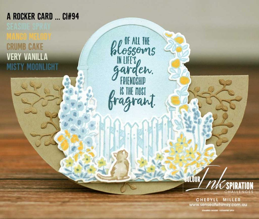 Graces Garden Stamp Set