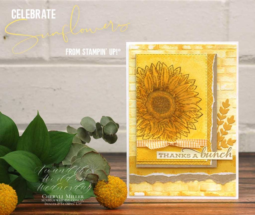 Celebrate Sunflowers all in yellow
