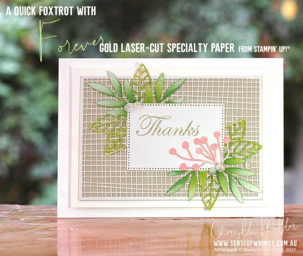 Forever Gold Laser Cut Specialty Paper