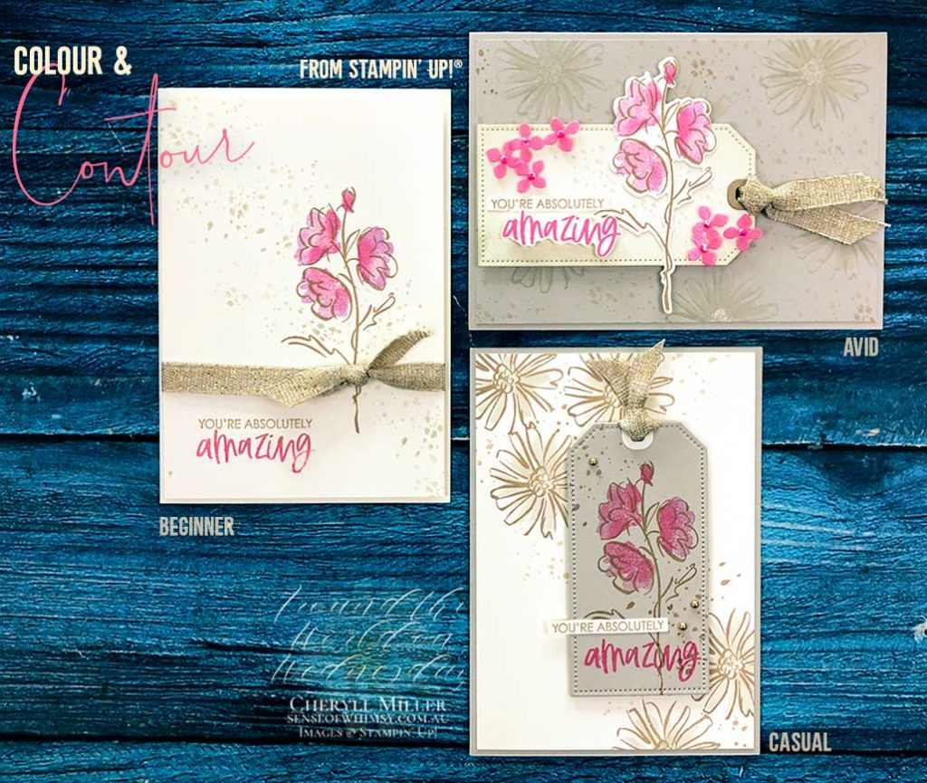 Colour and Contour set of cards