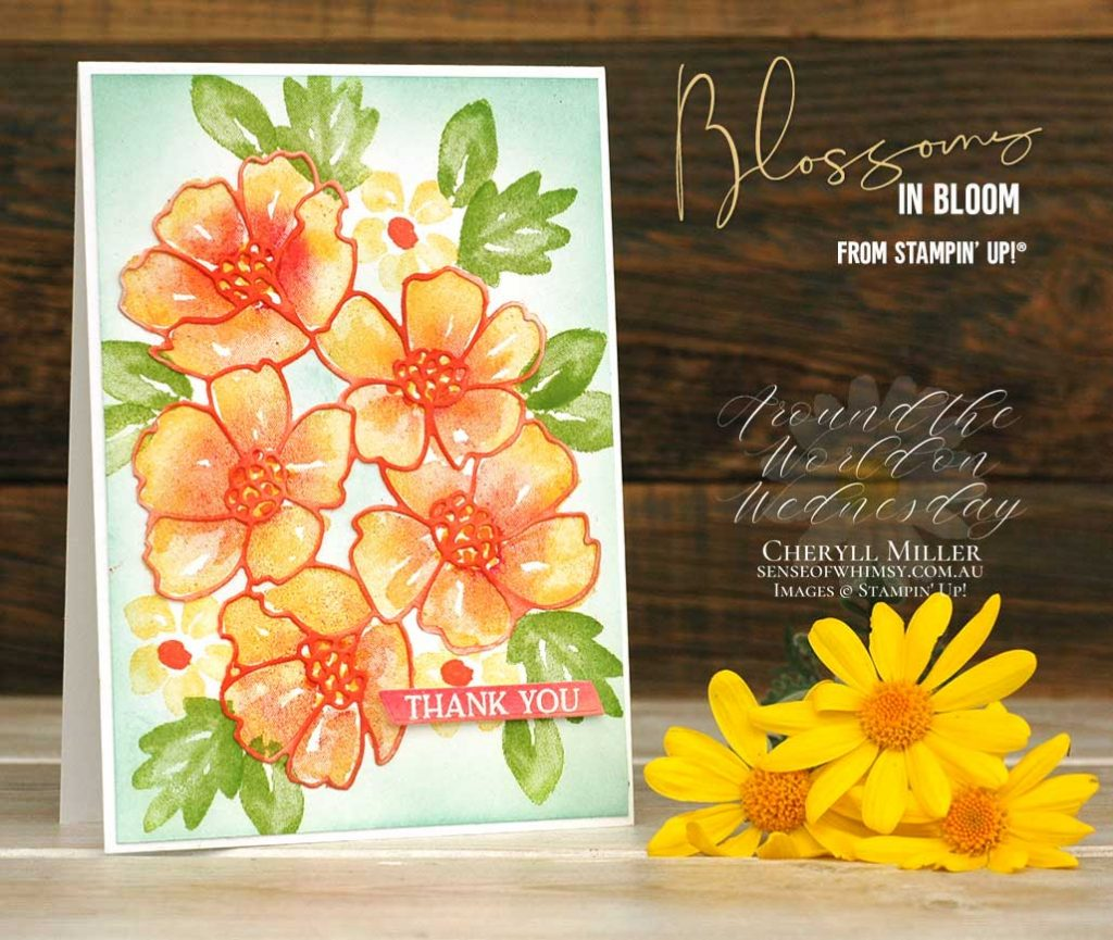 Blossoms in Bloom simple card