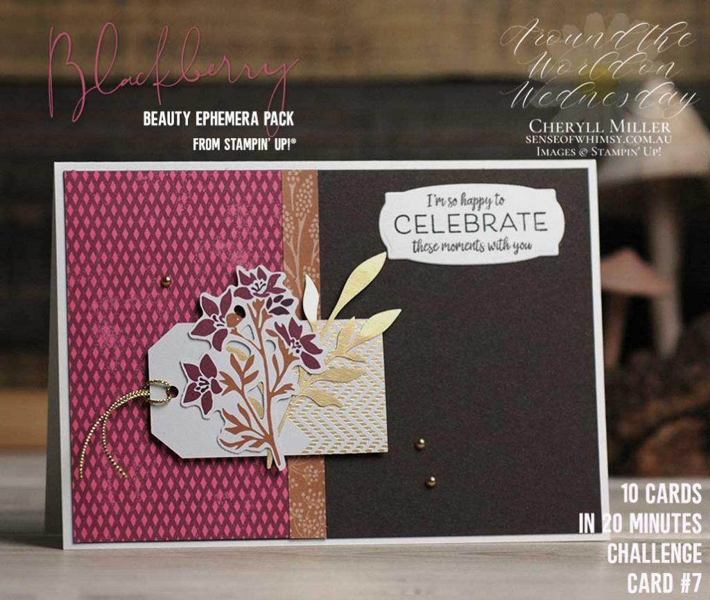 Blackberry Beauty Ephemera Pack