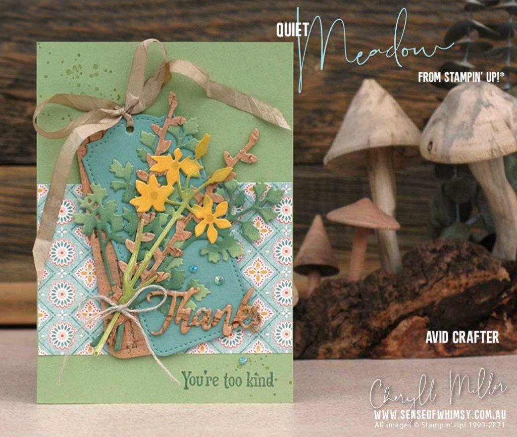 Quiet Meadow Avid Card
